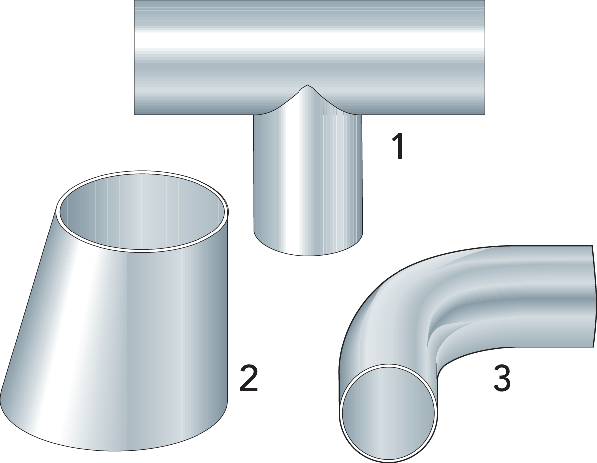 Product factory pipe connections, threaded plugs, special fasteners