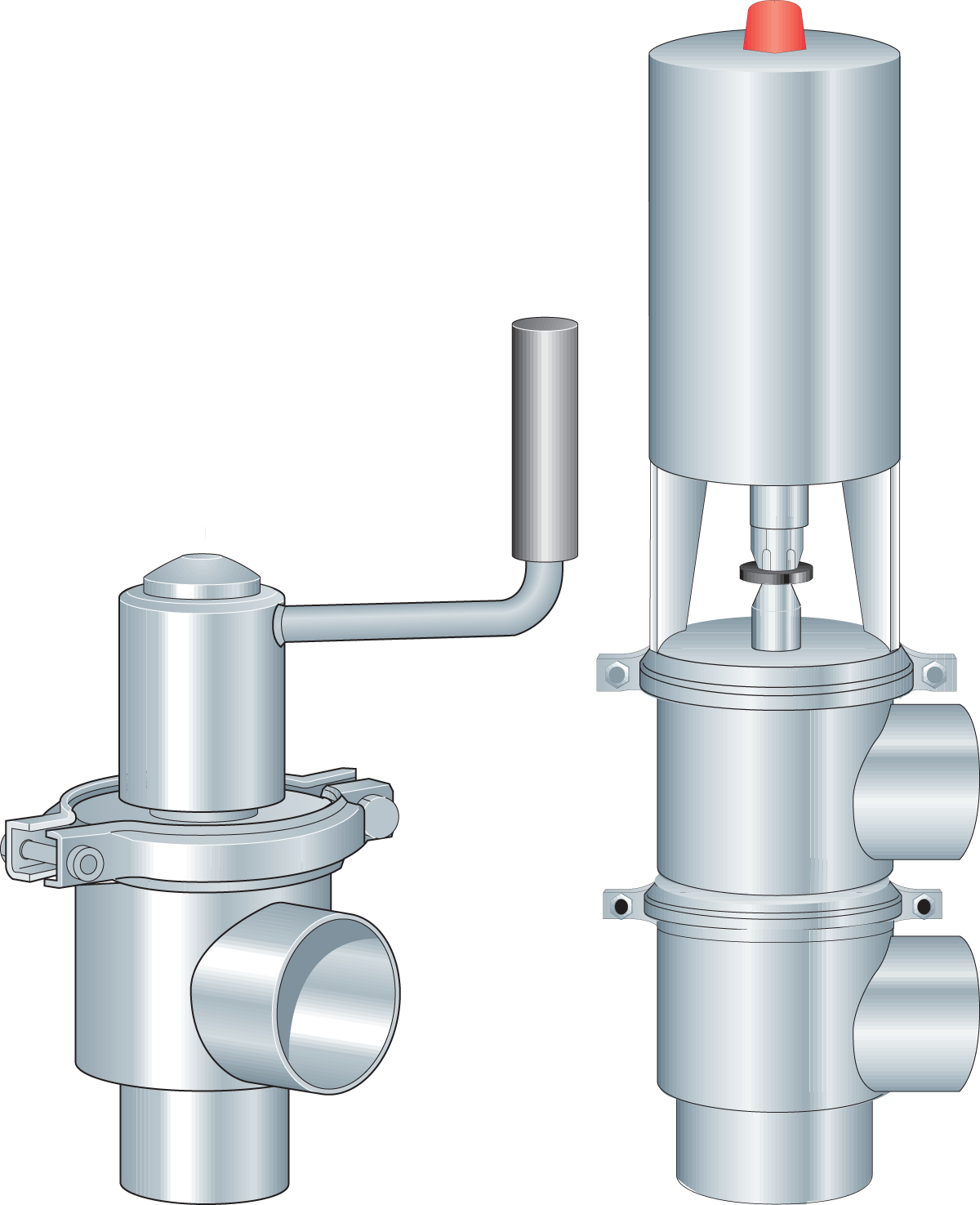 Pipes, valves and fittings | Dairy Processing Handbook